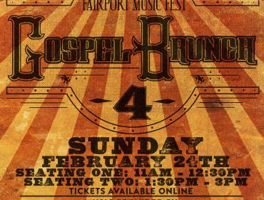 Gospel Brunch presented by Iron Smoke Distillery and Fairport Music Festival
