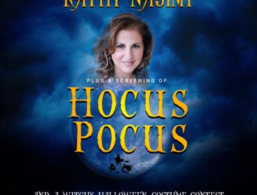An In-Person Conversation with Kathy Najimy plus a screening of Hocus Pocus
