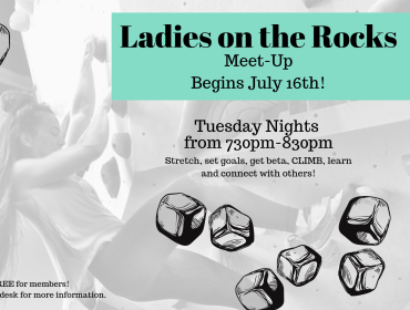 Ladies on the Rocks - Women's Climbing Night!