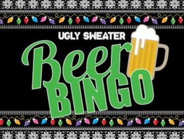 Ugly Sweater Beer Bingo