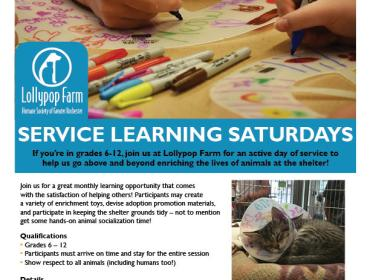 Service Learning Saturday