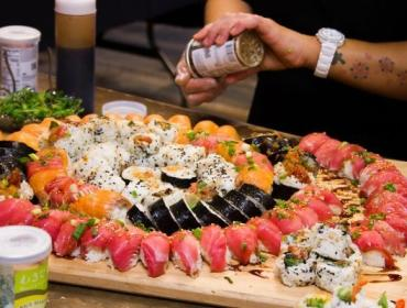 Sip & Sushi with Chef Kimberly Roth