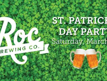 Roc Brewing St. Patrick's Day Party