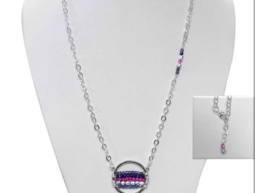 Sip & Bead: Wrapped Super Moon Necklace Sun February 17