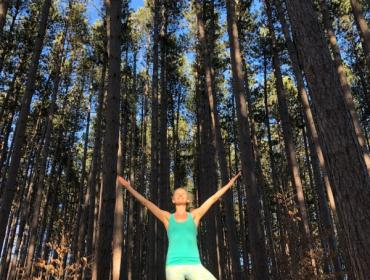 Yoga in the Pines