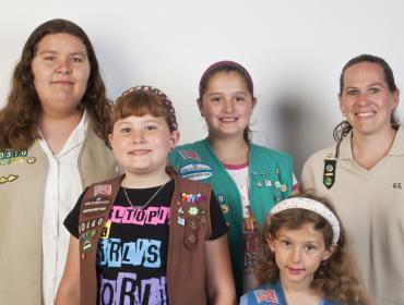 A Friend to Every Butterfly Scout Program