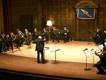 Trombone Choir. Larry Zalkind and Mark Kellogg, directors