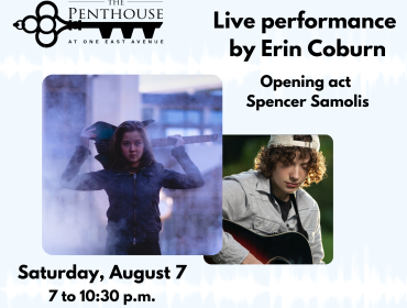 The Penthouse Presents: Live concert with Erin Coburn and Spencer Samolis