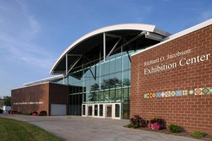 Richard D Jacobson Exhibition Center Iowa State Fairgrounds in Des Moines