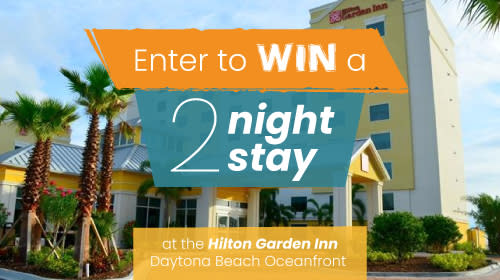 March Giveaway - Hilton Garden Inn