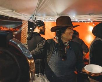 Jan Parker at Tacoma Night Market
