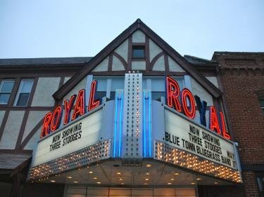 Royal Theater marquee