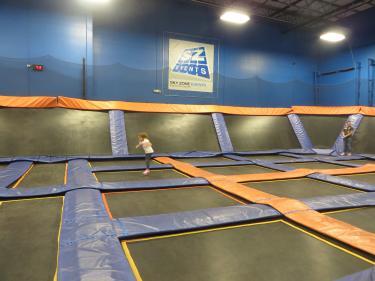 Skyzone trampoline park, Plainfield,IN