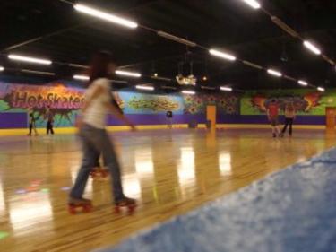 Enjoy exercise and family fun at the same time at Hot Skates!