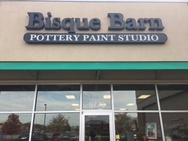 Bisque Barn Pottery Paint Studio