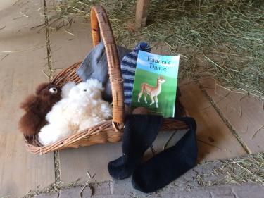Montrose Farms Alpaca Ranch finished fleece goods