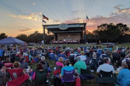 Concert at Lafreniere Park
