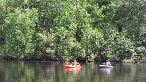 Canoeing at Lake Wissota State Park