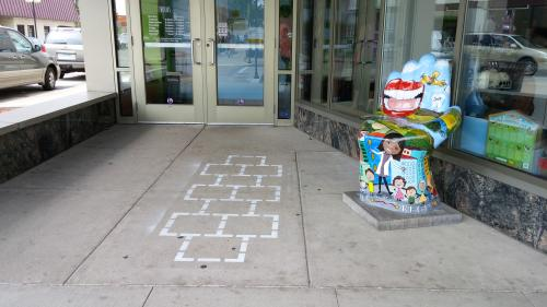 Hopscotch at Eau Claire Children's Museum