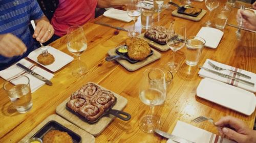 Wine Kitchen Food Tour with Bread and Cinnamon Rolls