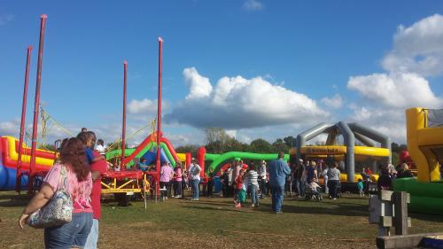 Anderson Orchard Kids Fest is the first weekend in October.