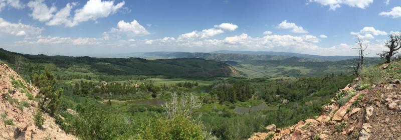 Muddy Mountain Vista Shot