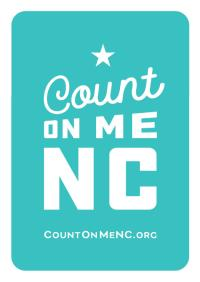 Count On Me NC logo.