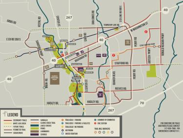 Plainfield Trails Map