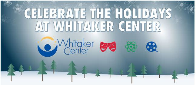 Holidays at Whitaker Center Logo 2019