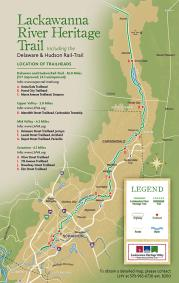 Lackawanna River Heritage Trail Map