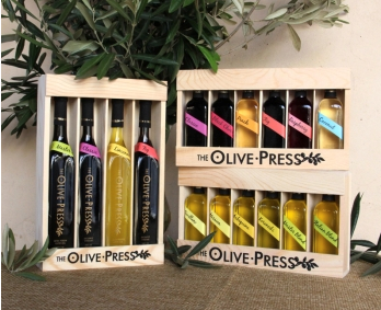 A selection of olive oils from Sonoma