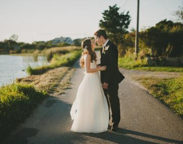 Stone House Wedding Image
