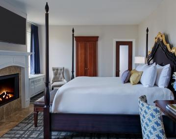 estate fireside bed