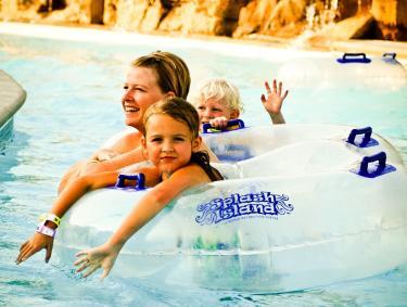Splash Island Family Tube
