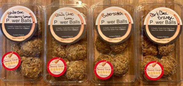 Octane Social House Power Balls - variety of popular flavors