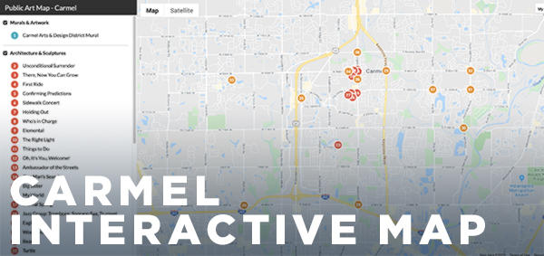 Carmel Interactive Map