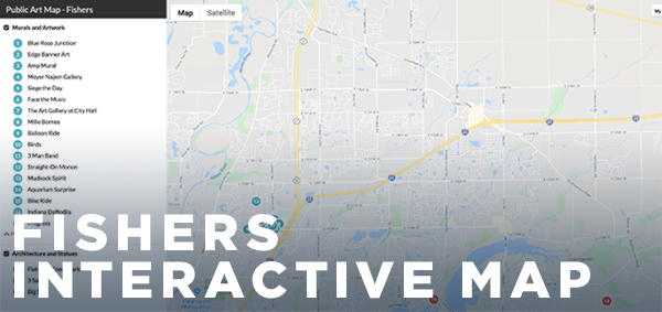 Fishers Interactive Map