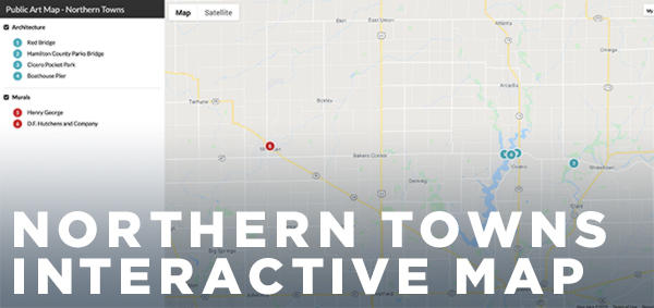 Northern Towns Interactive Map