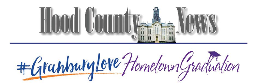 Granbury Love Hometown Graduation promotion logo