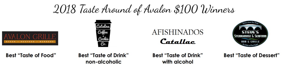 taste around avalon winners 2018