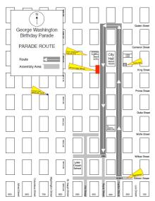 GW Parade Route 2020
