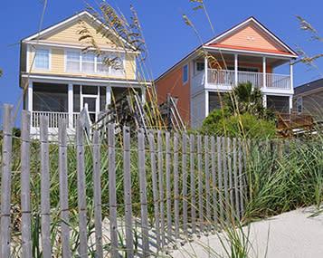 Surfside Beach, SC beach homes