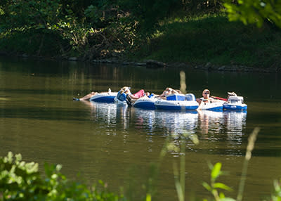 Tubing on the Brandywine