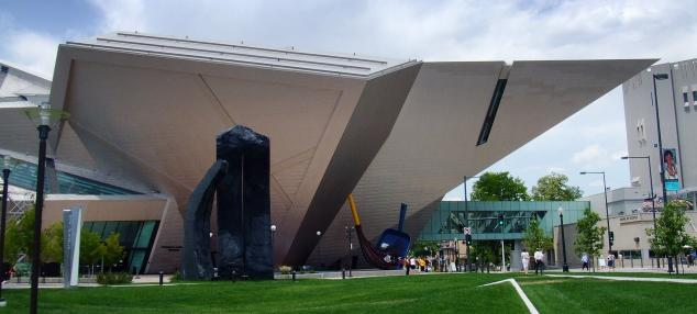 Exterior of the Denver Art Museum