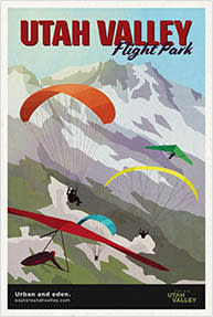 Flight Park Travel Poster