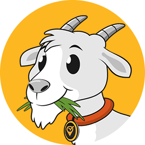 Chompy the VisiGoat is our Visit Apps mascot, and just like any family member, we wouldn't be complete without him