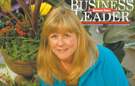 Business Leader cover featuring Karen Robbins