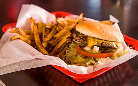 Huts Hamburgers