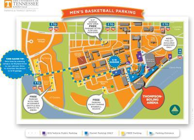 2018-2019 Men's Basketball Parking