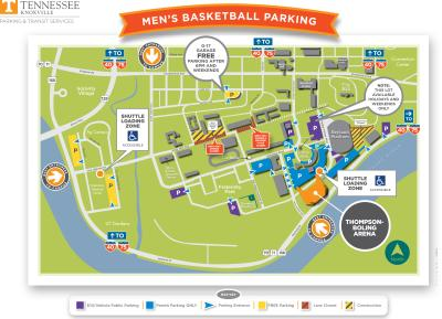 Men's Basketball 2019-2020 Parking